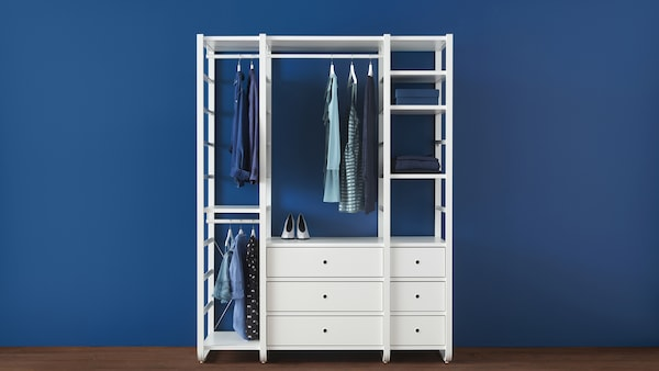 Open Clothes Shoe Storage System