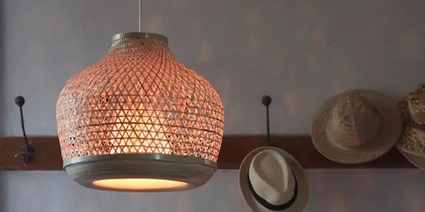 En lampe