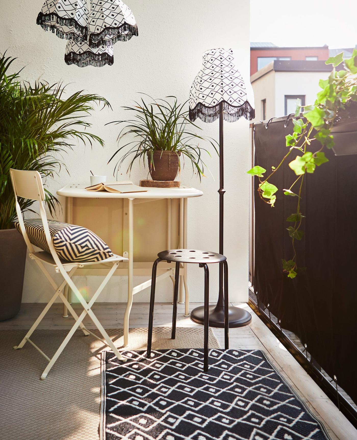 Tre tips för en mer avskild balkong IKEA