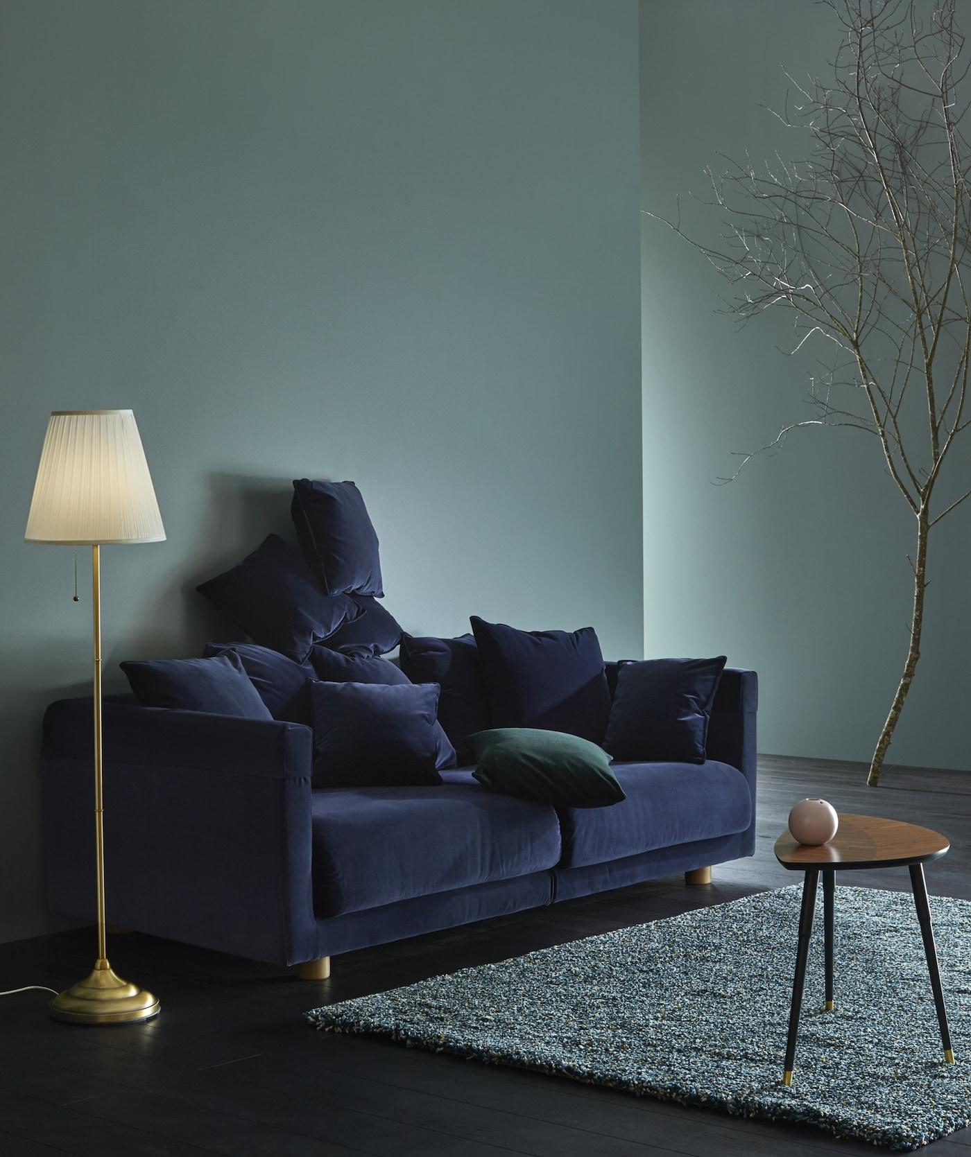 Trendy og stemningsfullt med fløyel IKEA