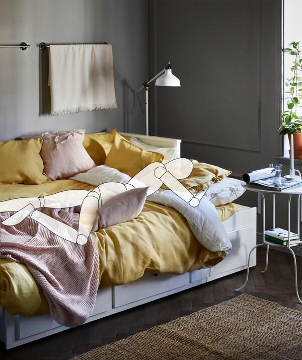 stillinger i sengen