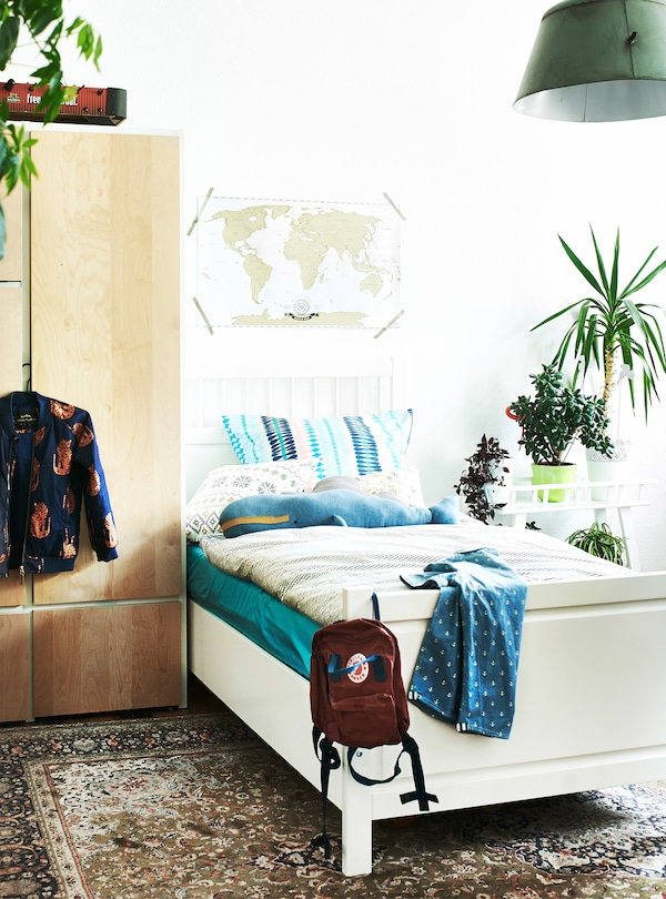Encourage kids to plan and update their bedroom.