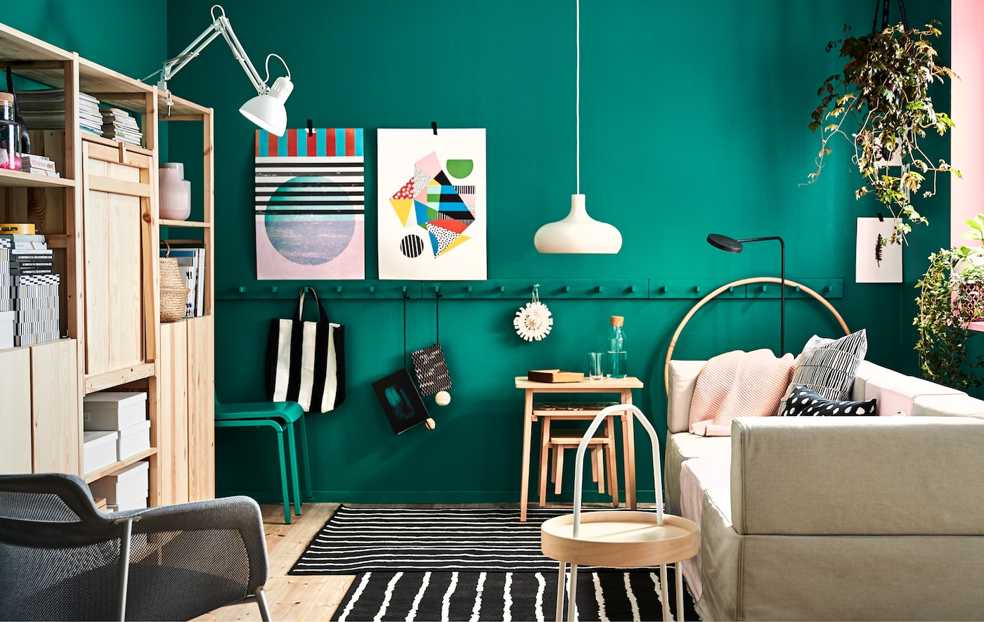 Encourage play while staying true to your own style. Here we show you how to create a flexible small space living room using smart solutions that the kids won't outgrow in a couple of months.