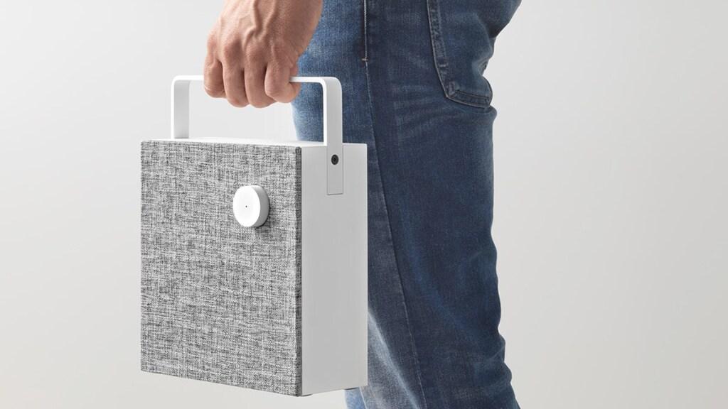 ENEBY Bluetooth-Lautsprecher, weiß