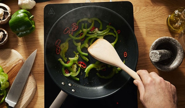 Energie sparen beim Kochen durch Induktionskochfelder