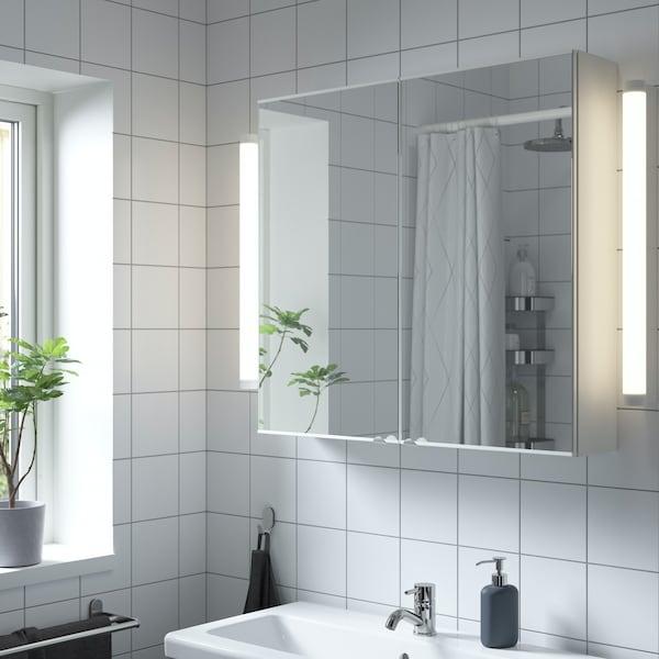 ENHET Badezimmermöbel mit Spiegel
