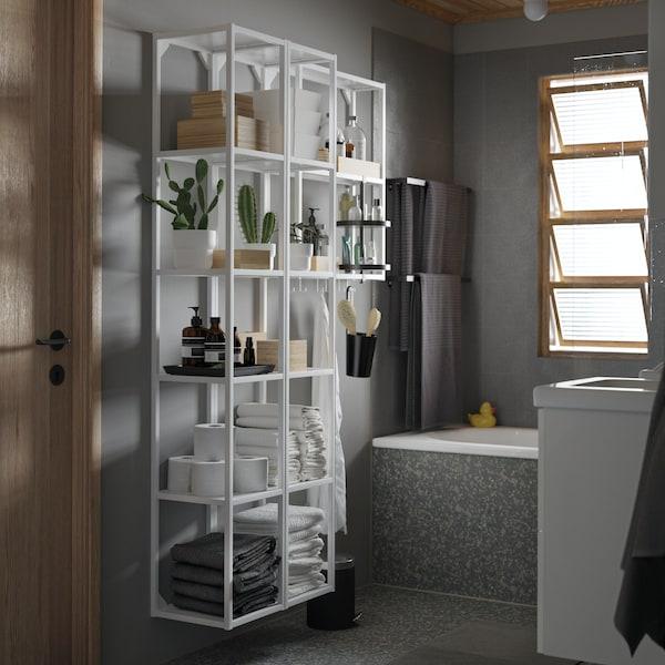 ENHET Badezimmerregal in weiß