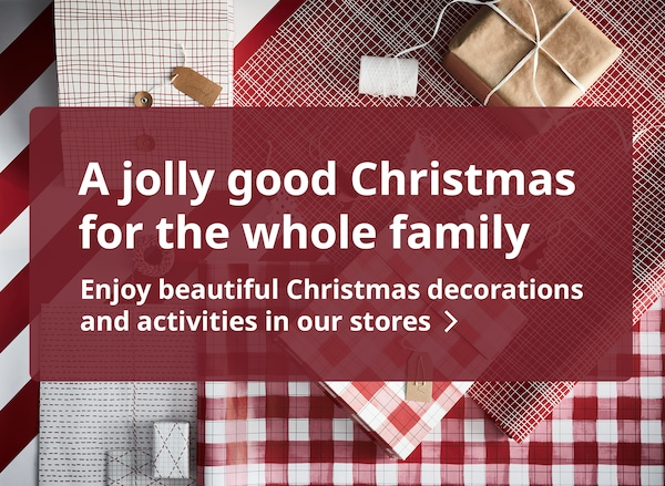 Enjoy more Christmas offerings from IKEA