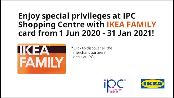 Enjoy special privileges at IPC