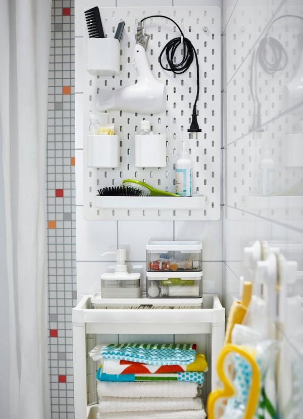 Une Salle De Bain Pour Les Enfants Et Les Invites Ikea