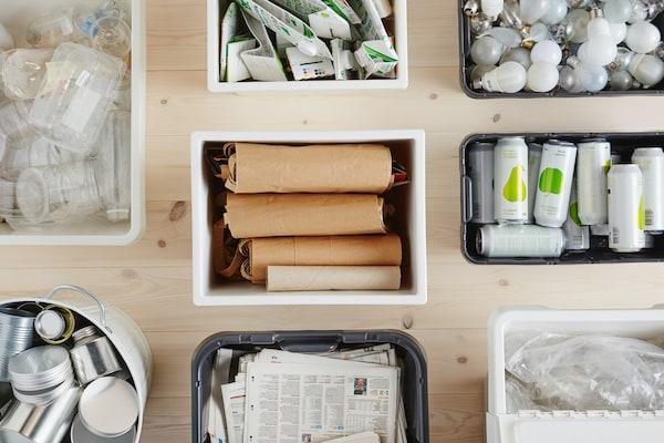 Entsorgung und Recycling in SAMLA Boxen