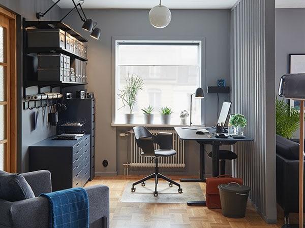 Un espacio elegante y a juego en casa - IKEA