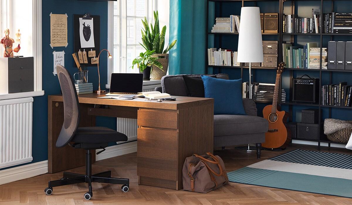 Espace de bureau à domicile