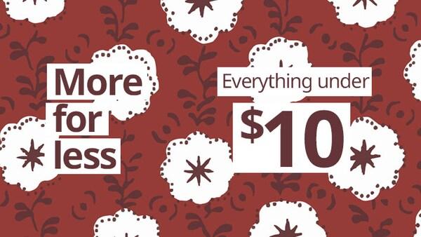 Essentials under $10