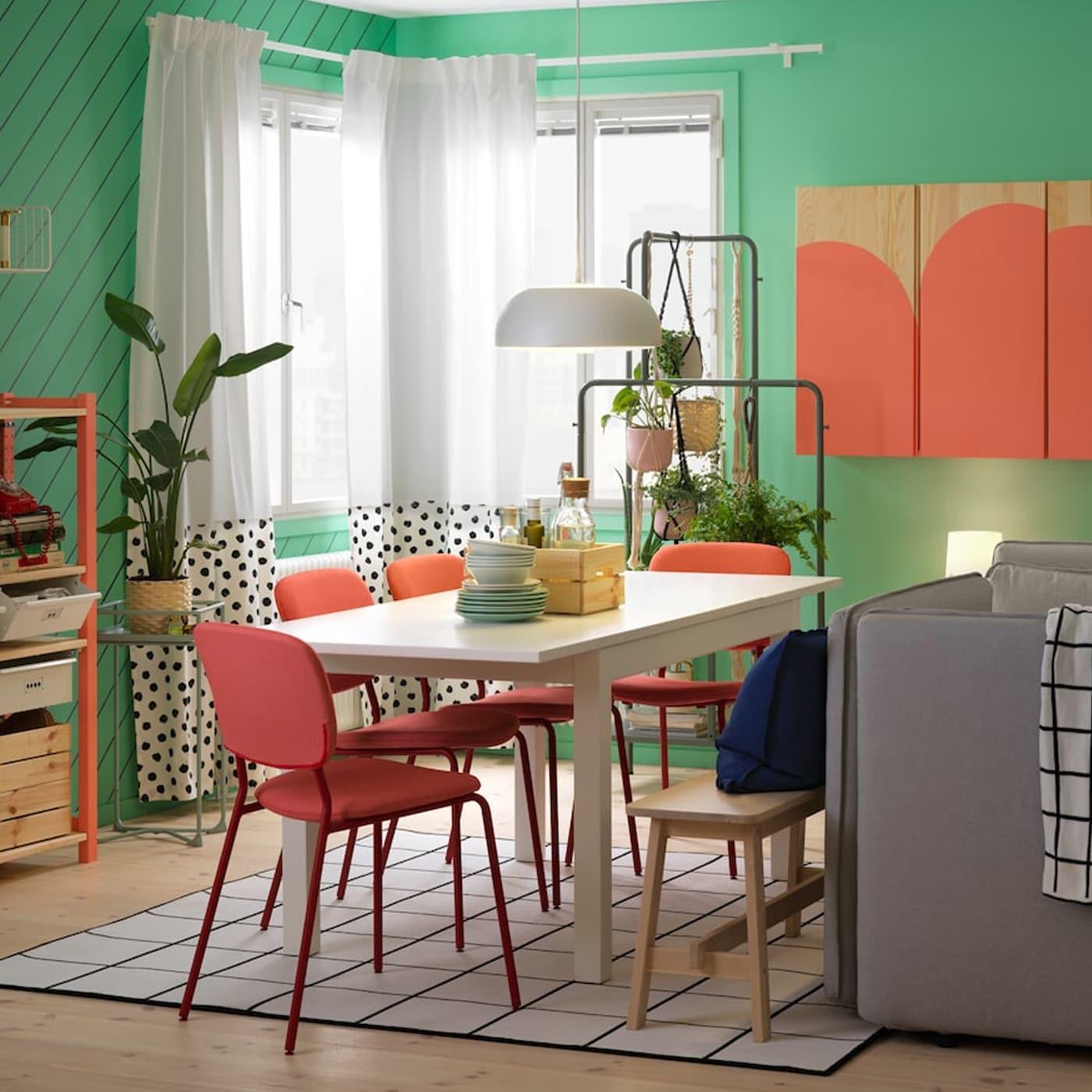 Erschwinglicher Essplatz Mit Bequemen Stuhlen Ikea Osterreich