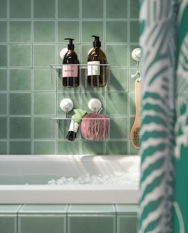 estante colgante para ducha ikea
