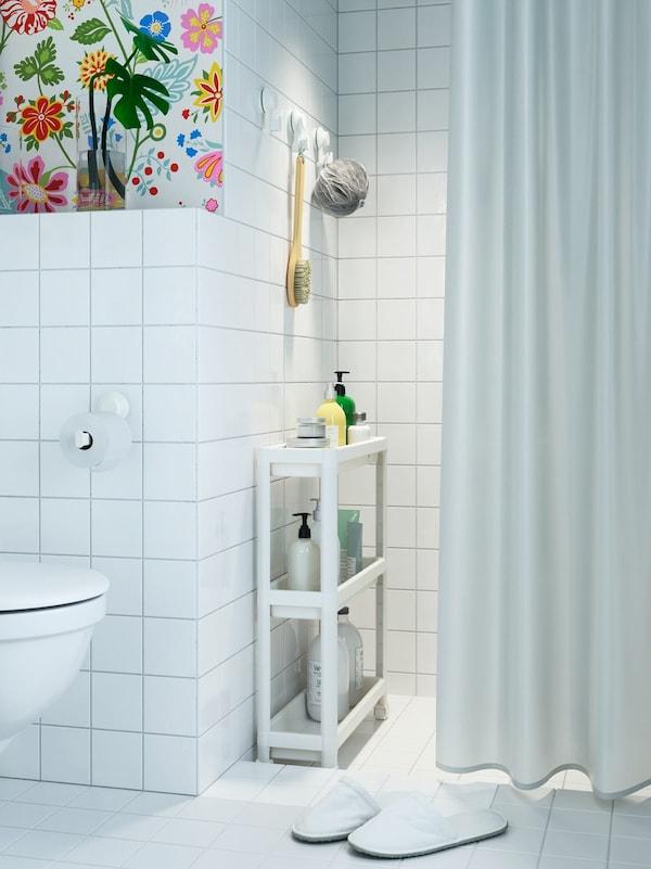 estanterías ikea para baños pequeños