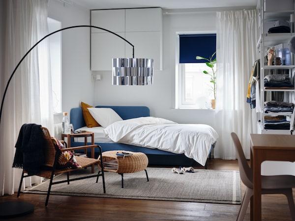 Et galleri fullt av inspirerende ideer til møbler og annet til soverommet.
