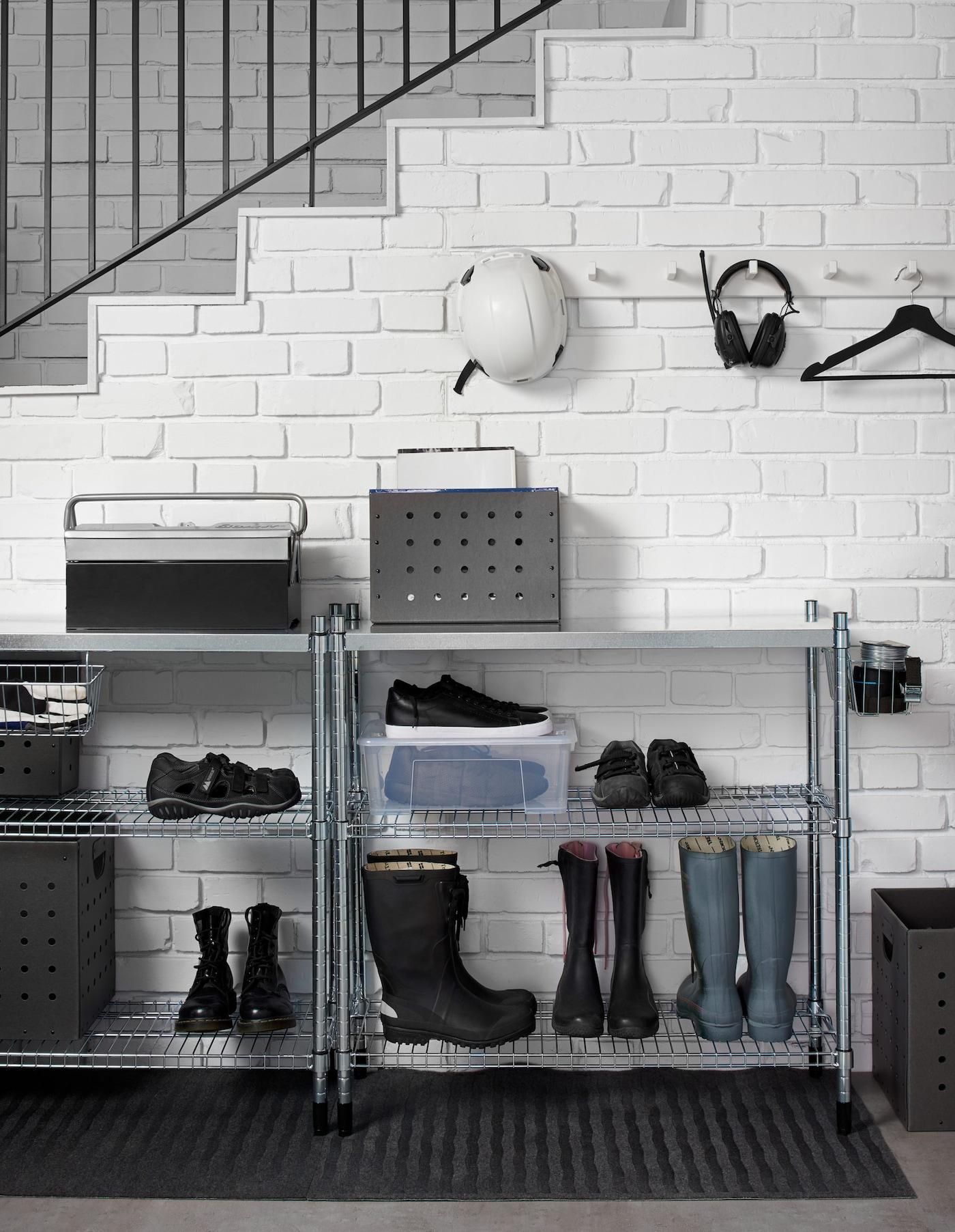Dans Vos Mettez Chaussures Ikea De L'ordre L'entrée 3RL54Aj