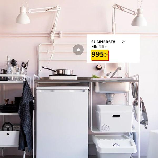 Ett kök som är lätt att montera och ta isär.