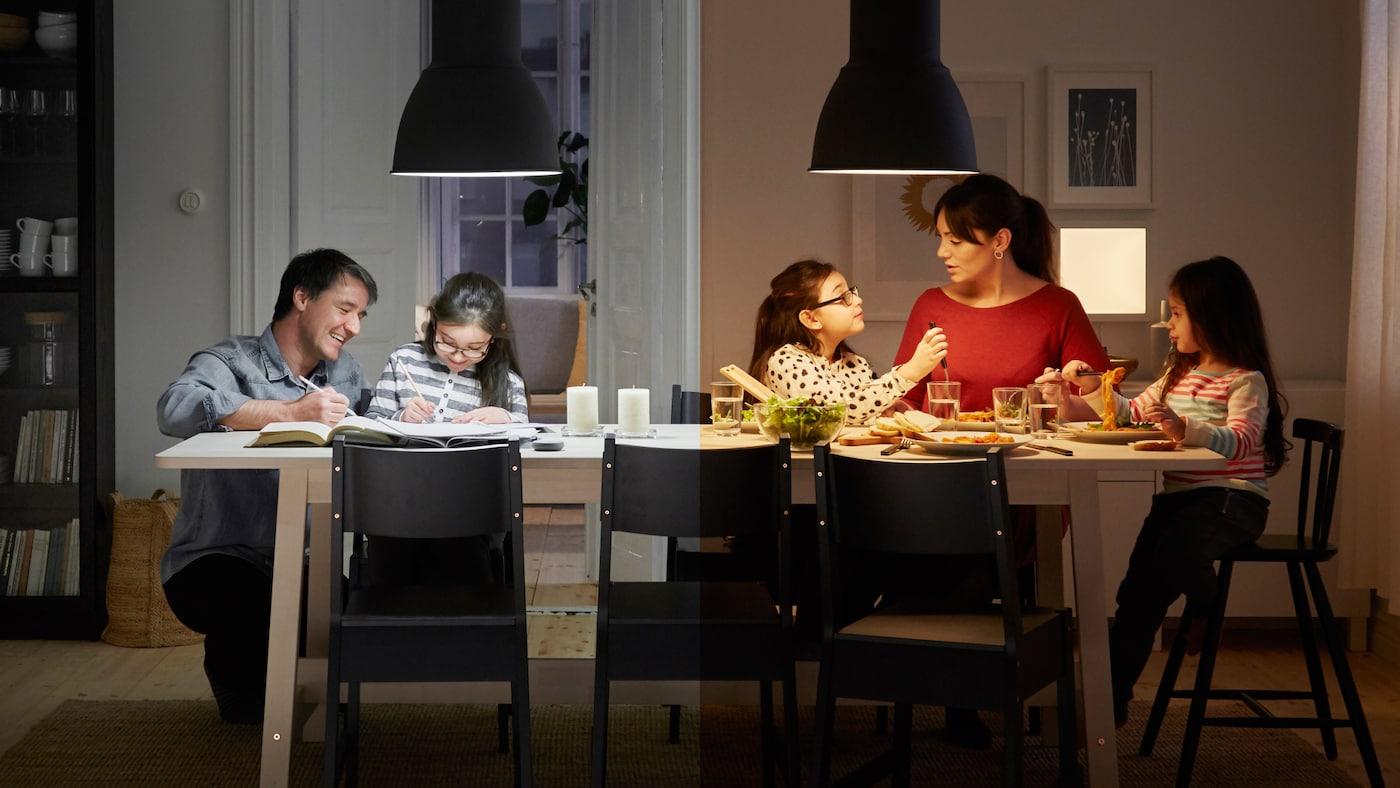 Belysningsguide IKEA