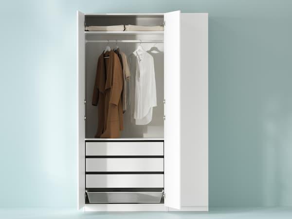Ett planeringsverktyg som du kan använda för att planera din egen PAX garderob.