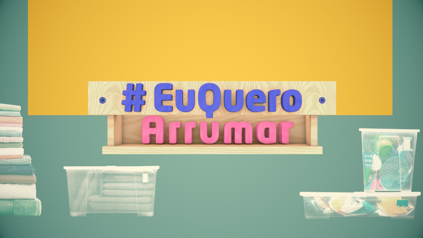 #EuQueroArrumar