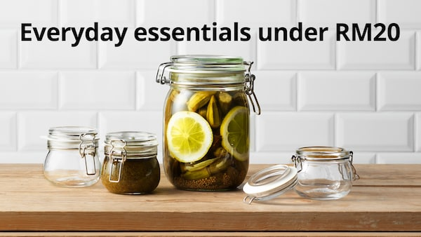 Everyday essentials under RM20