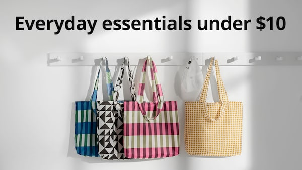 Everyday essentials under $10