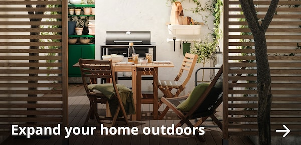 Expand your home outdoors.