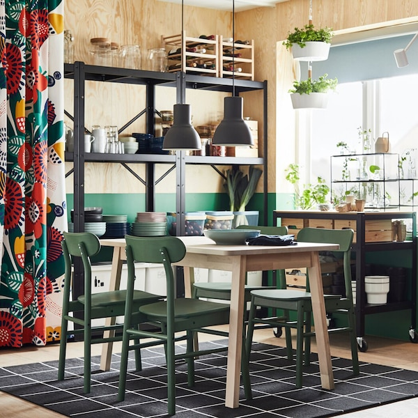 Dining Room Shelving And Storage: IKEA Dining