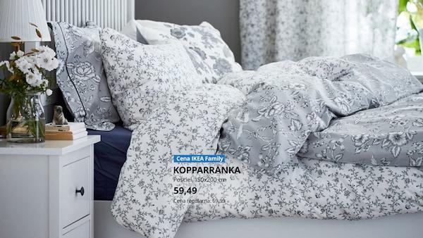 -15% na wszystkie tekstylia do sypialni, firany i zasłony. Oferta dla Klubowiczów IKEA Family, obowiązuje do 03.11.2020 r. lub do wyczerpania asortymentu.
