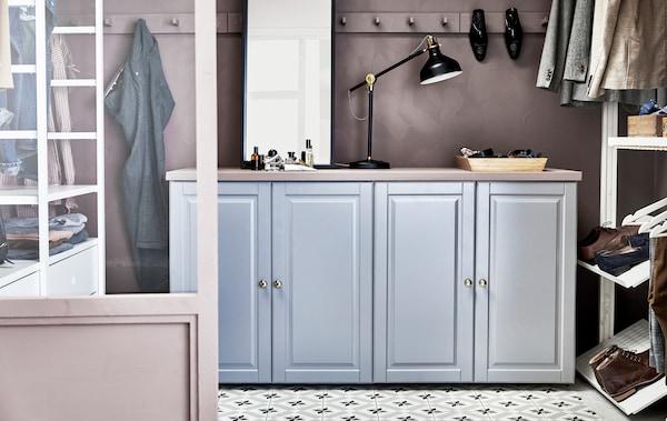 Voici Des Idées Gain De Place Pour Un Dressing Ikea