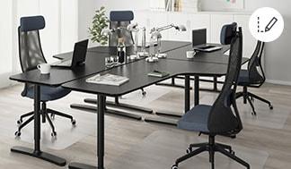 Zaplanuj meble do biura