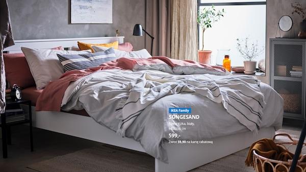 10% kwoty wydanej na łóżka i materace zwracamy w formie rabatu na kolejne zakupy. Oferta dla Klubowiczów IKEA Family, obowiązuje do 06.10.2020 r. lub do wyczerpania asortymentu.