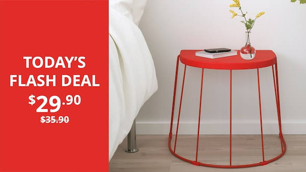 Buy TRANARÖ stool/side table now! Deal valid on 4 June 2020 only