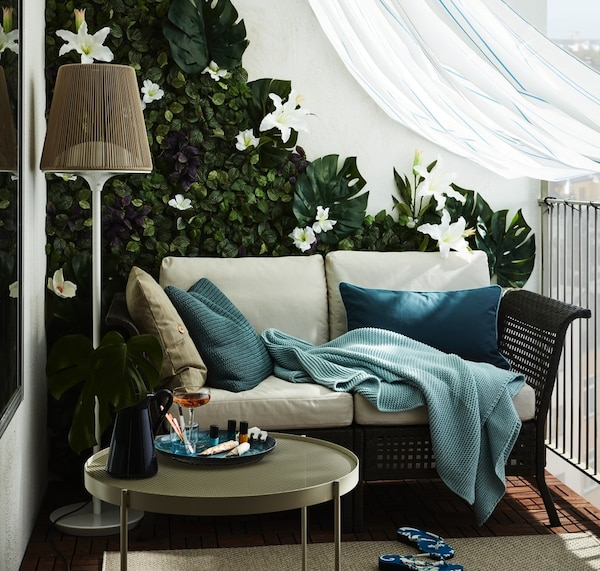 Deko Ideen Urlaub Auf Dem Balkon Ikea Deutschland