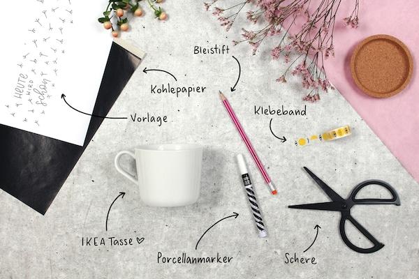 DIY Ideen: Tassen bemalen & beschriften - IKEA Deutschland
