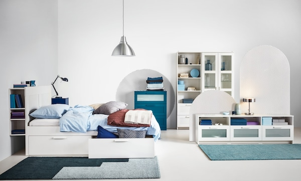 IKEA Schlafzimmerserie BRIMNES
