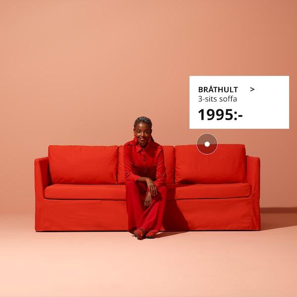 Få hjälp att välja rätt soffa.