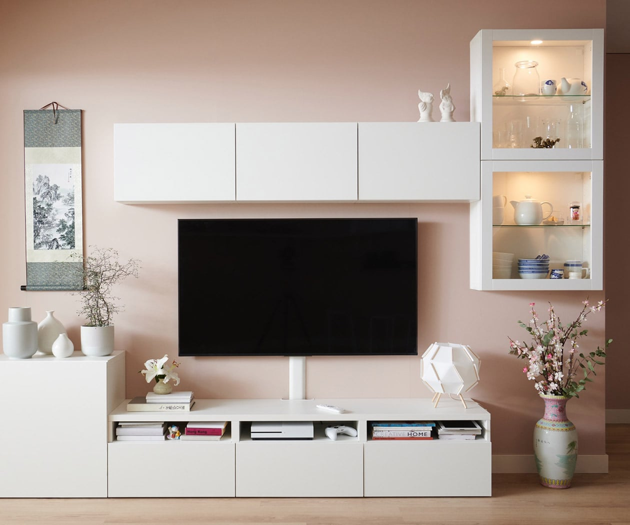 Picture of: Besta Opbevaringssystem Sammensaet Pa Kryds Og Tvaers Ikea