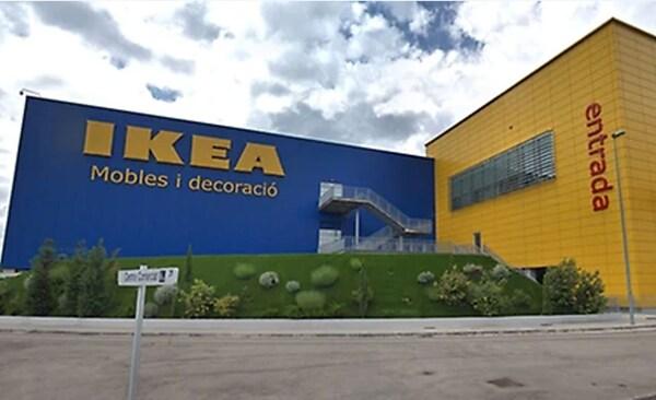 Fachada de la tienda IKEA Sabadell