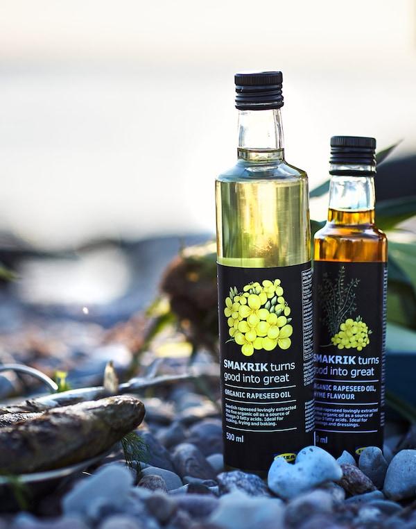 Familia SMAKRIK de uleiuri de rapiță a fost recent adăugată gamei noastre de produse alimentare organice.