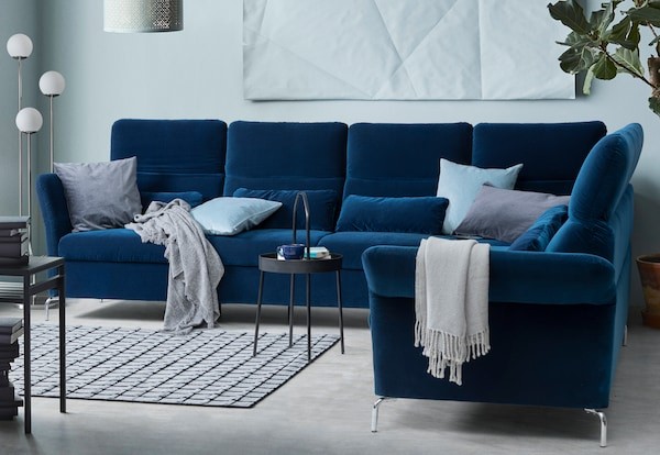 FAMMARP sofa blau