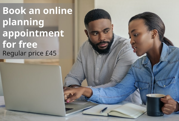Book and online planning appointment for free