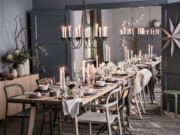 Eettafel Dekken De Juiste Tafeldecoratie Ikea