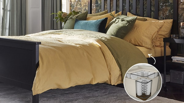 Up to 15% off* mattresses. IKEA Family members only.