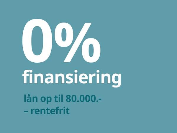 Finansiering - 0% finansiering