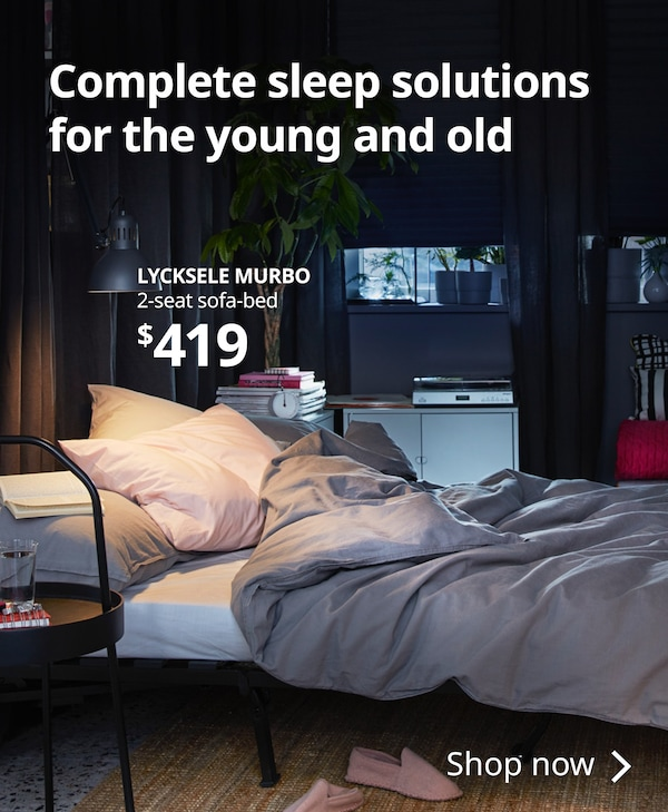 Find Complete Sleep Solutions For The Young And Old At Ikea Home Furnishings Now