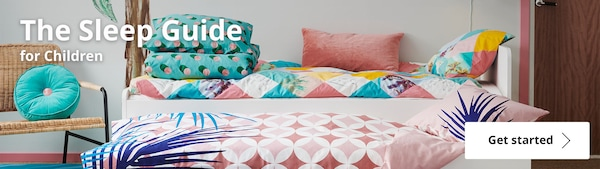 Find out how to help your child get a Perfect night's sleep with IKEA Home Furnishings!